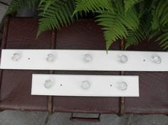 Antique White Rail Shabby Chic Rail THREE by BigGirlSmallWorld