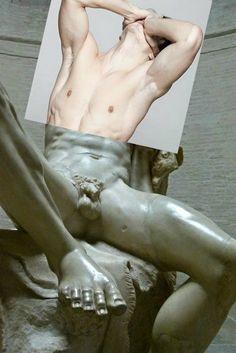 Collages eróticos de Naro Pinosa