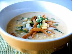 The Bojon Gourmet: Sweet Corn and Roasted Poblano Chowder