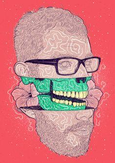 Ilustrações #04 by Bruno Miranda, via Behance