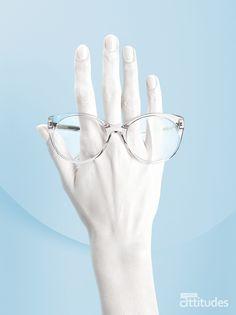 Magazine Lunettes Attitudes Printemps-Été 2018 - LA TRANSPARENCE : discrétion assumée ! Offert chez votre opticien Maurice Frères #eyes #eyewear #fashion #tendances #glasses #lunettes #opticien #optician #optique #magazine #webzine #blue