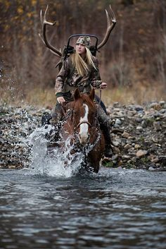 An Elk Hunt With Hillary Maybery