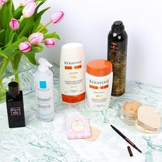 Estée Lalonde, the beauty blogger behind Essie Button, talks us through the hero products that have earned pride of place on her bathroom shelf…