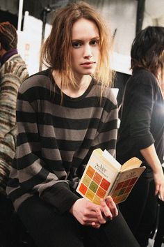 Fashion week and books