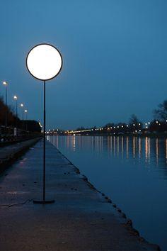Moonlamp by Nathalie Dewez