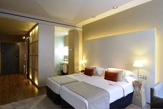 Grand Hotel Central Barcelona Superior Twin room | Luxury Bcn Hotel