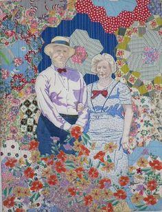 """Grandmother's Flower Garden"" by Barbara Littlefield"