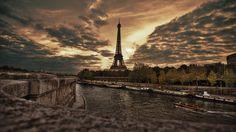 PC 배경화면으로도 좋을만한 에펠탑 풍경 사진