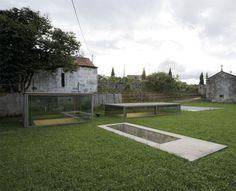Nuno Brandão Costa. Proyecto de recuperación de la Quinta de Bouçós. Fotografía: Armenio Teixeira.     #tc_arquitectura #architecture_publication #portuguese_architecture