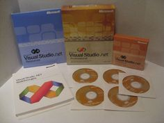 Microsoft Visual Studio .NET Professional Version 2002 Includes 5 CDs Resources #Microsoft