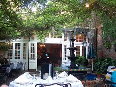 Court of Two Sisters Restaurant Courtyard- New Orleans by Casino Jones, via Flickr