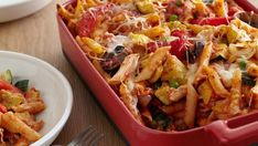 How to make the perfect Baked Penne with Roasted Vegetables by Giada De Laurentiis on Food Network UK.