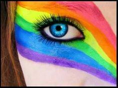 Gay pride eye