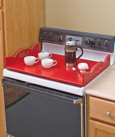 ~XOX   Wooden Stove Top Covers!!!  =)  #GreatKitchenAndHomeGift  #TheLakeSideCollection