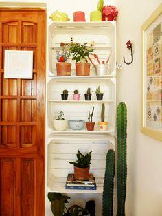 A minha varanda: Espaço pequeno e várias possibilidades - A Casa que a minha Vó queriaA Casa que a minha Vó queria