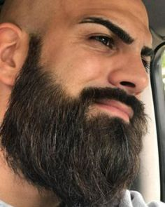 Amazing Beard Styles from Bearded Men Worldwide Bald Men With Beards, Bald With Beard, Badass Beard, Epic Beard, Best Beard Styles, Hair And Beard Styles, Hair Styles, Muslim Beard, Beard Images