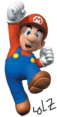 Mario Without Mustache.
