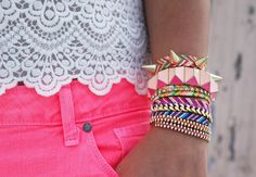 Weheartit jewelery pink love it