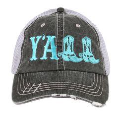 Katydid Y'all Women's Trucker Hat