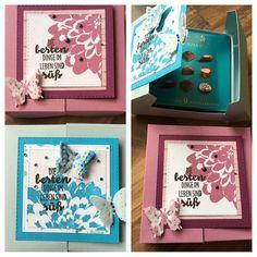 Stampin up Verpackung für kleine Lindt-Pralinen
