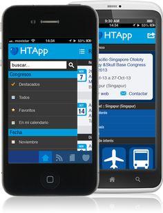 APPS Agenda de Congresos   Omnigaea  Para IOS y ANDROID Disponibles en AppStore y Google Play