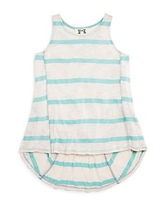 Ppla Girls' Striped Slub Tank - Sizes S-l