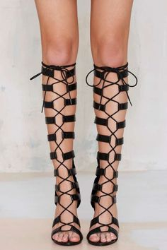 Privileged Fighter Gladiator Heel - Shoes | Heels #streetstyle