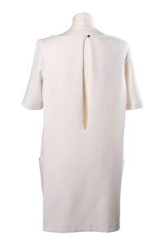 ROLAND GARROS & WHITE SPIRIT: inspiration by Les Cachotières / Robe blanche BASH à emprunter chez Les Cachotières