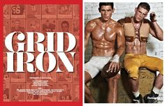 Grid Iron by fantasticsmag.com #men