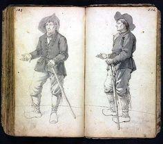Beggar - Barend Hendrik Thier (~1743-1811), a Dutch artist