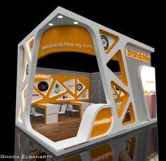 Cabine design Brandchise no Behance