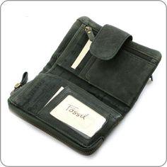 Hcohwertige Leder-Geldbörse von Fossil. Beste Qualität, praktische Einteilung. Ein Bestseller.