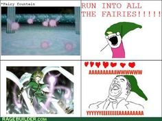 rage comics - Fill ALL the Hearts