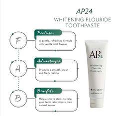 Ap 24 Whitening Toothpaste, Whitening Fluoride Toothpaste, Tan Skin, Anti Aging Skin Care, Beauty Care, Galvanic Spa, Luxe Boutique, Herbalife Shake, White Smile