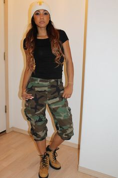 Unisex Vintage Camo Pants by Diannikco on Etsy, $44.95