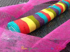 Gâteau roulé rainbow