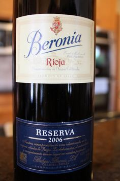 Birthday wine 2012!  Best Rioja I've EVER had and beats some of the best cabs too.  Curate - Asheville, NC