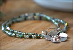 Silver Work, Jewelry Making, Beaded Bracelets, Beads, How To Make, Fashion, Beading, Moda, Bead