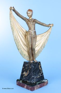 A rare Art Deco  French bronze  figure by Henri Désiré Grisard, circa 1925
