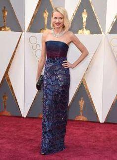 Naomi Watts in Armani Privé | Oscars 2016