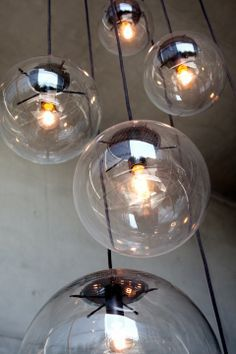selene pendant light by sandra lindner for classicon lighting licht lampe glaskugel glass. Black Bedroom Furniture Sets. Home Design Ideas
