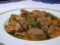 Veau marengo Curry, Beef, Chicken, Cooking, Ethnic Recipes, Food, Sauces, Lorraine, Moment