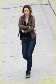 Rachel McAdams & Colin Farrell Get Some Serious Scenes Shot for 'True Detective'