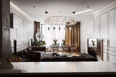 Eclectic Skyline Residence 02 850x567 Sergey Makhno Designs a Family Home in Kiev, Ukraine