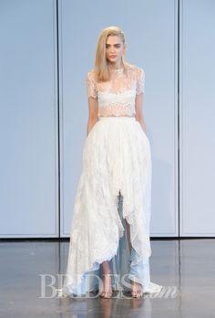 Brides.com: Spring 2015 Wedding Dress Trends. Trend: Beach Chic. Wedding dress by Houghton