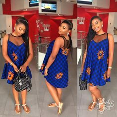 The complete pictures of latest ankara short gown styles of 2018 you've been searching for. These short ankara gown styles of 2018 are beautiful Ankara Short Gown Dresses, Ankara Short Gown Styles, Trendy Ankara Styles, Short Gowns, African Print Dresses, African Fashion Dresses, African Dress, 50s Dresses, Elegant Dresses