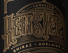 Voice Design in Australia asked me to collaborate with them on a wine label for Adelaide Hills Wine Region. The label was beautifully produced as gold foil on black. Check out the rest of their great work at voicedesign.net.Art Direction: Anthony De Leo …