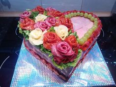Torty slané, galéria | Torty od mamy Sandwich Cake, Sandwiches, Salty Cake, Food Decoration, Food Art, Tapas, Appetizers, Desserts, Savoury Cake