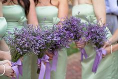 Lavender + Sage Wedding {from Photo Love}