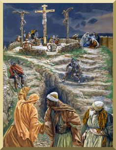 """My God, My God, why hast thou forsaken me?"" -- by James Tissot"